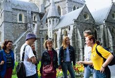 CES Yellow Shirt at Christchurch Cathedral (Large)