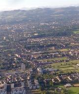 Aerial View of Edinburgh (Large)